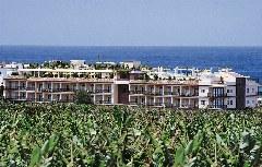 Rückseite Hotel Gran Rey