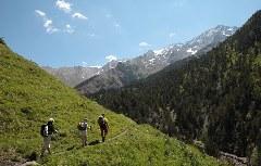 Wandern im Chistau-Tal in den Pyrenäen