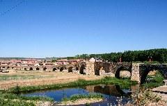 Blick auf Hornillos del Camino