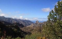 Blick auf den Roque Cano