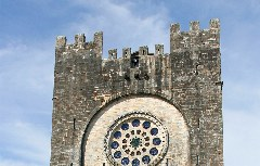 Kirche San Nicolás in Portomarín