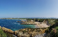 "Ausblick auf den Playa de Mexota"" kurz hinter Tapia de Casariego"