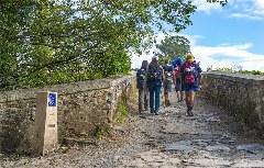 historische Brücke von Furelos