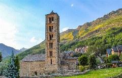 Die berühmte Boí-Kirche Sant Climent de Taüll