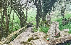 Brücke auf dem Weg nach Melide