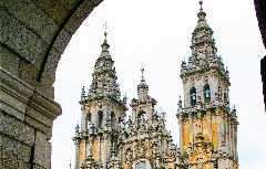 Malerischer Anblick auf die Jakobus Kathedrale