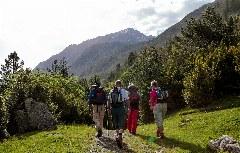 Wanderung im grünen Nicolautal bei Boí