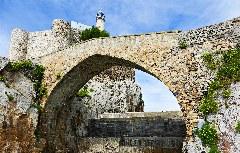 Die ehemalige Templerburg Santa Ana in Castro Urdiales