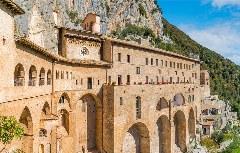 Das Kloster San Benedetto bei Subiaco