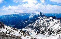 Bergpanorama oberhalb des Tunel de Vielha