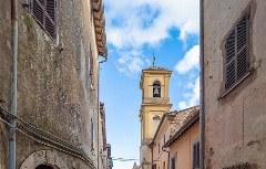 Das Bergdorf Orvinio zählt zu den schönsten Dörfern Italiens