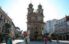 Die Kapelle La Peregrina in Pontevedra