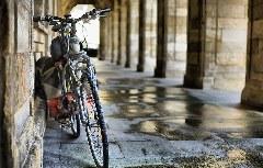 Fahrrad in Santiago de Compostela