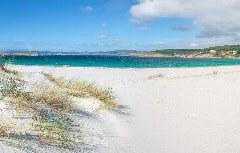 Strand von Laxe