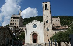 Türme in Gubbio