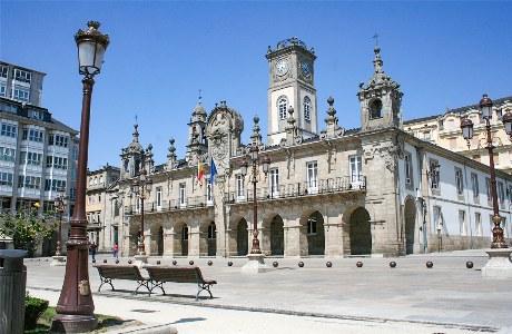 Das Rathaus in Lugo