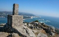 Ausblick vom Miradoiro do Monte de Santa Trega