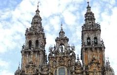 Jakobus-Kathedrale in Santiago