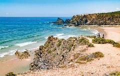Strand von Odeceixe