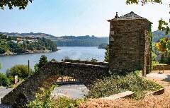 Historische Brücke von Portomarín