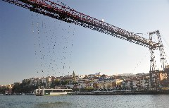 UNESCO-Weltkulturerbe Puente Colgante in Portugalete