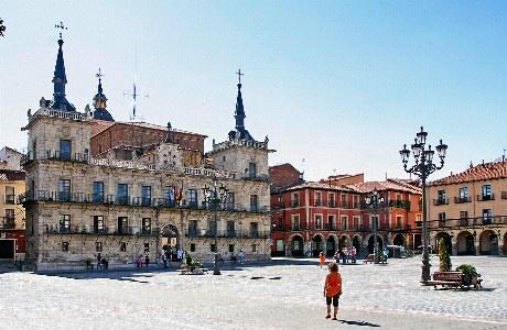 Rathaus in León