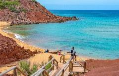 Die Cala Pilar im Norden Menorcas