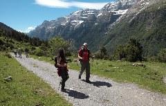 Wandern im Pineta-Tal