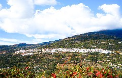 Ausblick auf Lanjaron