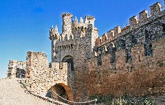 Mittelalterliche Burg in Ponferrada