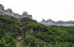 Gipfelkette oberhalb der Ordesa-Schlucht