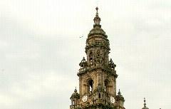 Jakobus Kathedrale von hinten