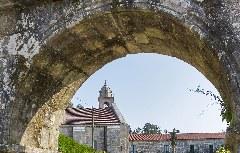 Eingangsbogen Kloster Armenteira