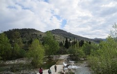 Tiber bei Pieve Santo Stefano