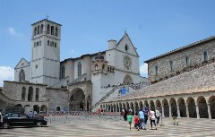 Franziskus Basilika in Assisi