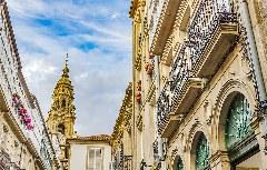 barocke Altstadt von Santiago de Compostela