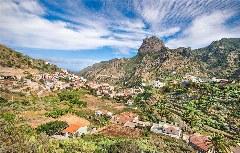 Vallehermoso - das liebliche Tal: Und im Hintergrund grüßt der Alto de Cano