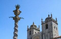 Startpunkt des Camino Portugués ist die Kathedrale Sé de Porto