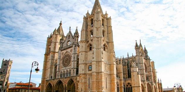 Kirche Santa María de Regla in Leon
