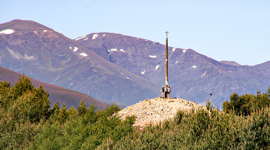 Cruz del Ferro in den Montes de León