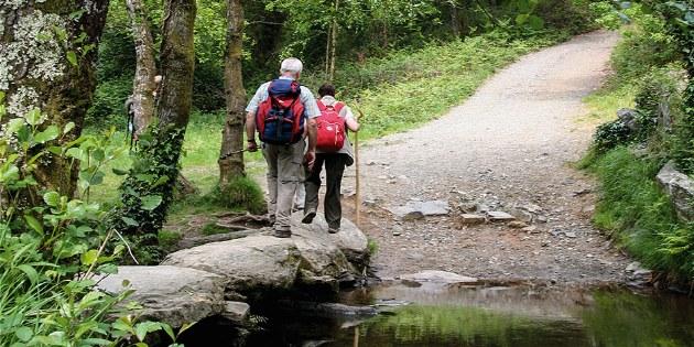 Passadoiro auf dem Camino Frances vor Arzua