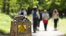 Pilger Individualreisen, ohne Gepäck pilgern